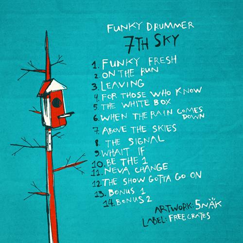 Обложка альбома «Funky Drummer — 7th Sky» | 5NAK